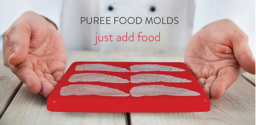 Puree Food Molds - just add food