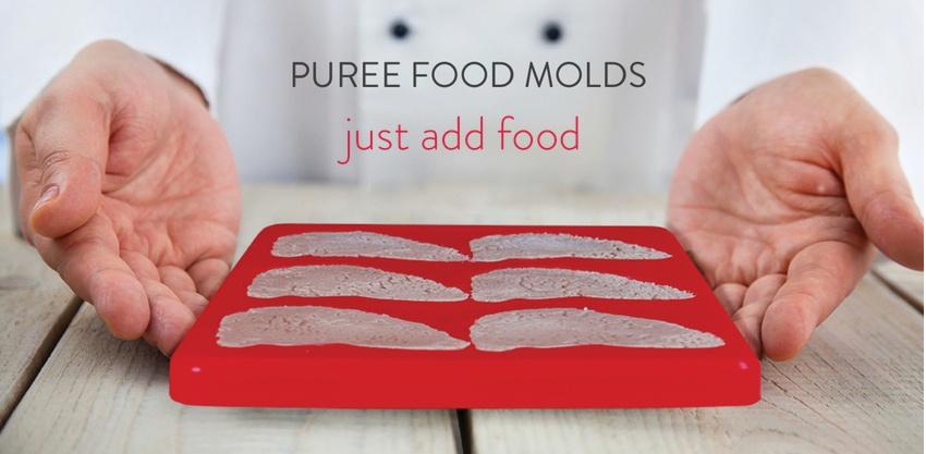 Puree Food Molds - just add food