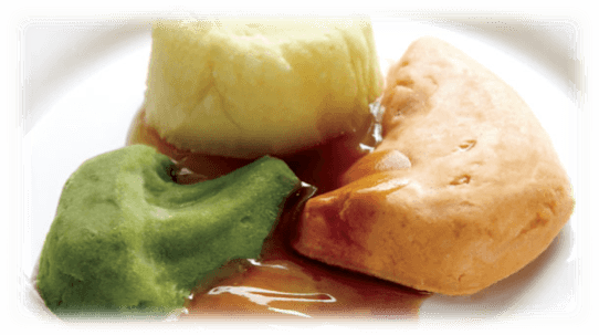 Puree Molded Chicken Casserole