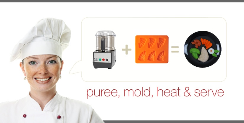 Puree Mold Heat and Serve
